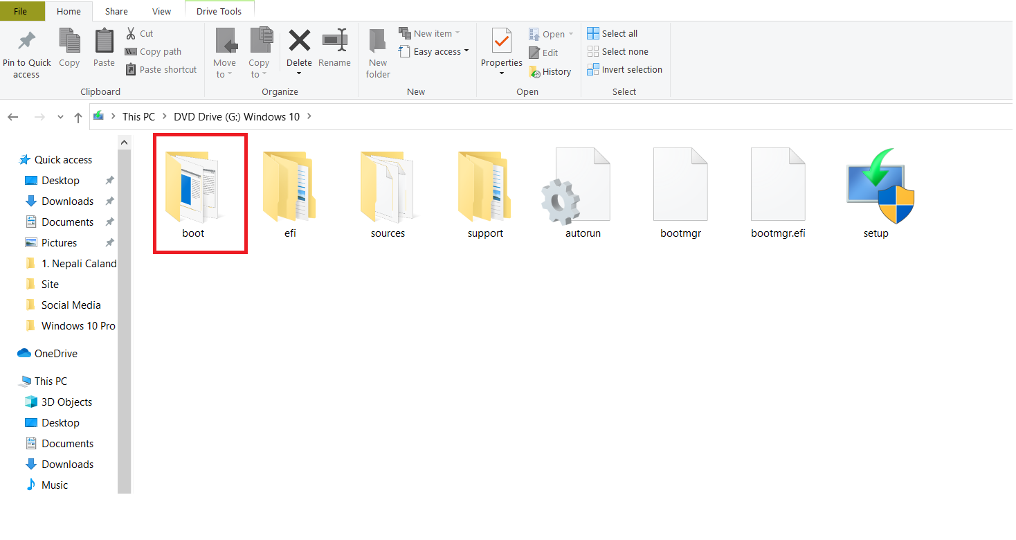 How to Create Bootable USB Without Any Software Using CMD