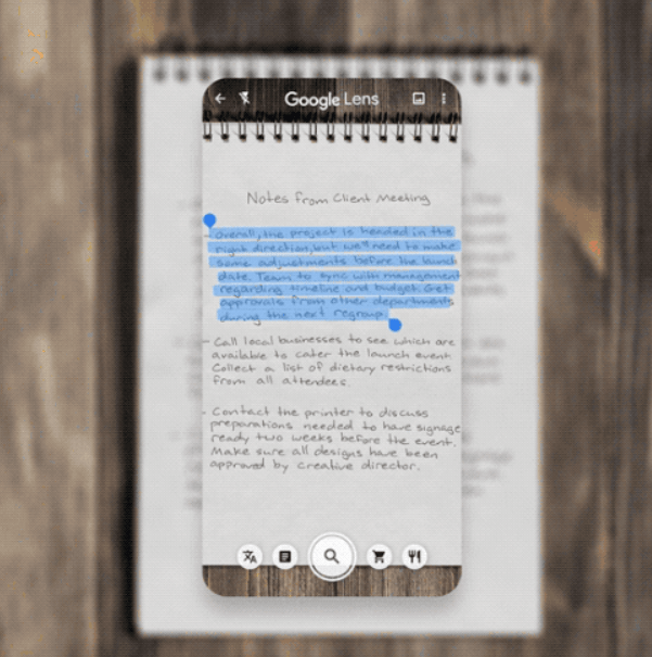 How to Copy and Paste Handwritten Notes to Your Mobile or Computer with Google Lens