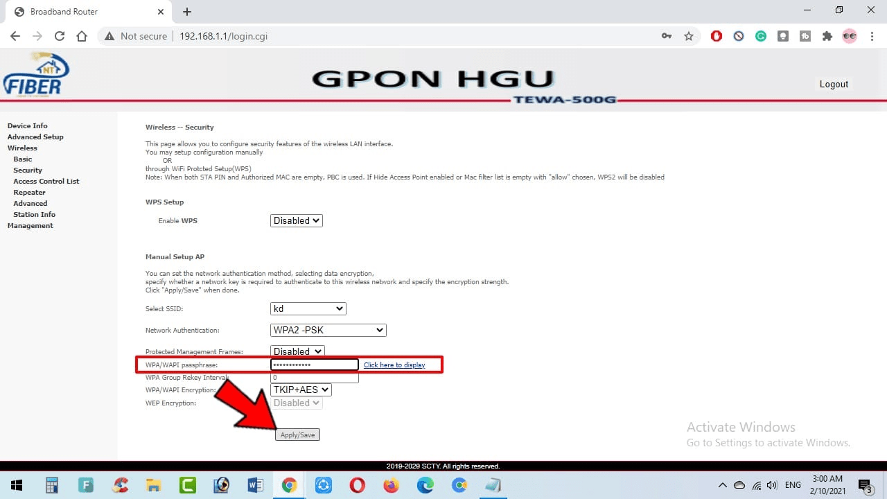 How To Change WiFi Name and Password of NT Fiber