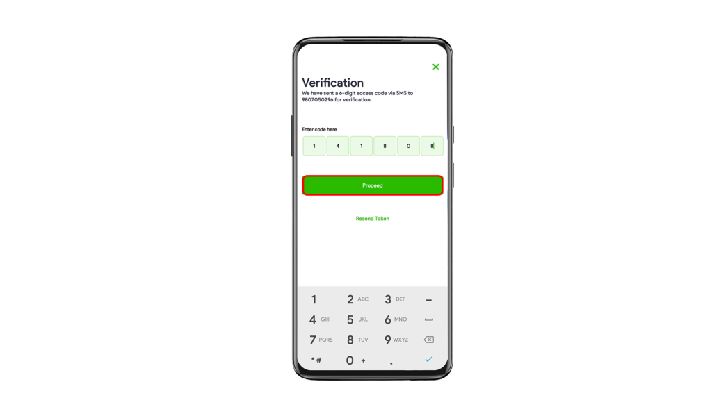 varify your phone number in esewa