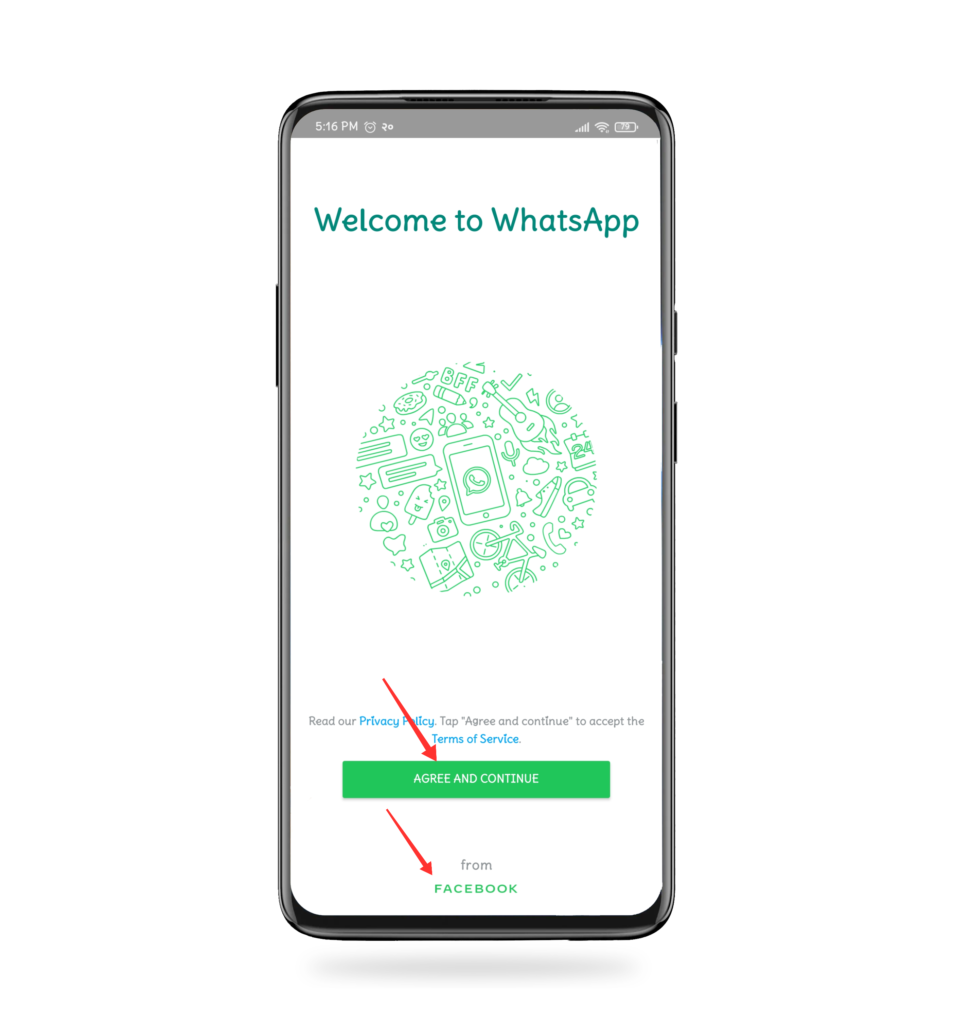 continue to WhatsApp