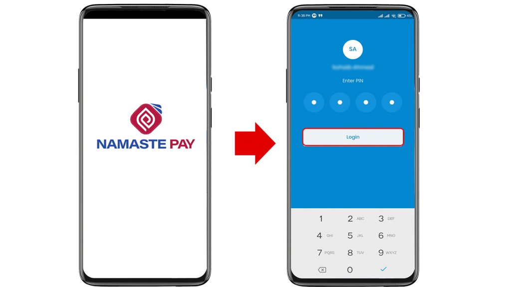 How To Use Namaste Pay Online?