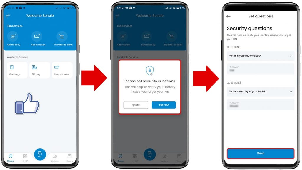 How to Register in Namaste Pay App